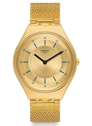 Swatch SYXG102M (Ø 38 MM) Bayan Kol Saati Altın